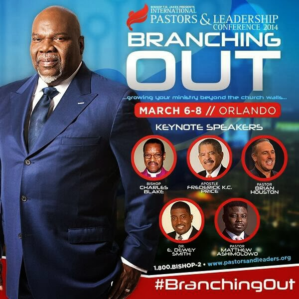 Jakes of The Potter's House has revealed the speakers lineup for ...