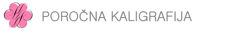 Poročna kaligrafija, poročna vabila Kaligrafija s Katarino KSK