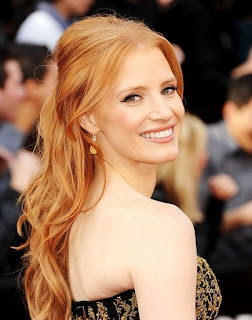 Jessica Chastain, Oskary 2012. Jessica Chastain, Oscars 2012