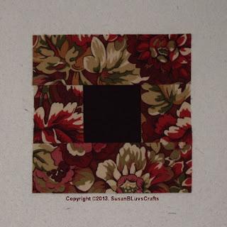 Cobblestone quilt block