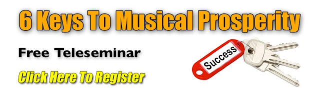 6 Keys To Musical Prosperity Teleseminar image