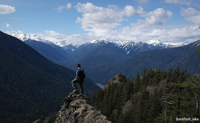 above the elwha