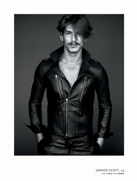Jarrod Scott by Nathaniel Goldberg for for VMan Magazine No.30