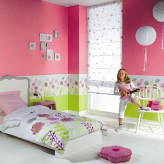 Ideas para decorar las paredes de las habitaciones de los - Paredes pintadas para ninos ...