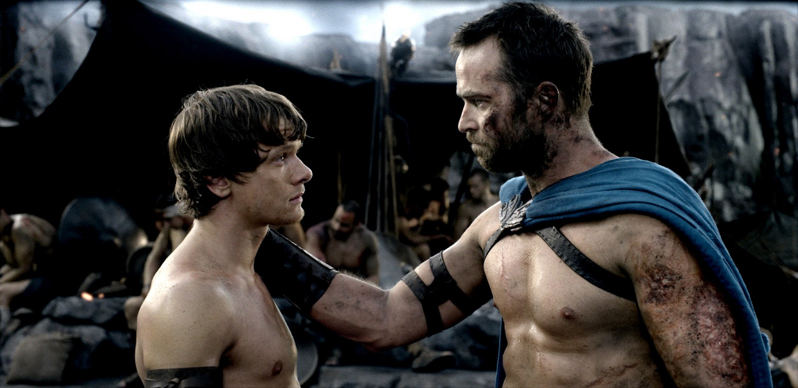 300: Rise of an Empire Jack O'Connell as Calisto & Sullivan Stapleton as Themistokles