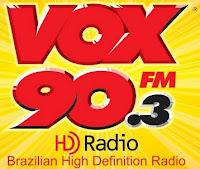 ouvir a radio vox 90,3 ao vivo Americana SP