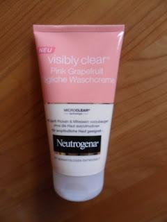 Test Erfahrung Bewertung Neutrogena Visibly Clear Pink Grapefruit im Langzeittest