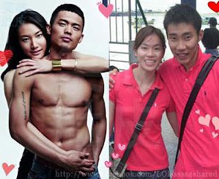 Lin Dan Xie Xingfang Chong Wei Meow Choo