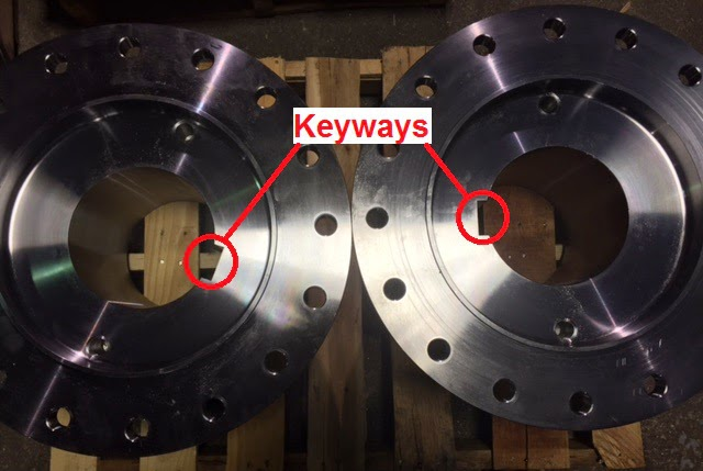 Coupling Keyways
