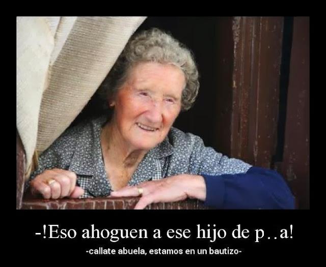 Cuidado con la abuela