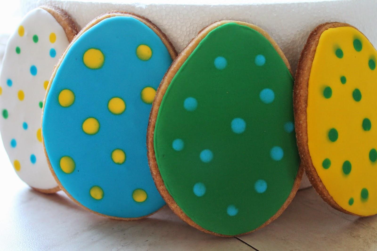 biscotti ovetto di pasqua - easter eggs cookie - tutorial