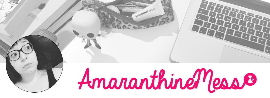 Bookblog AmaranthineMess