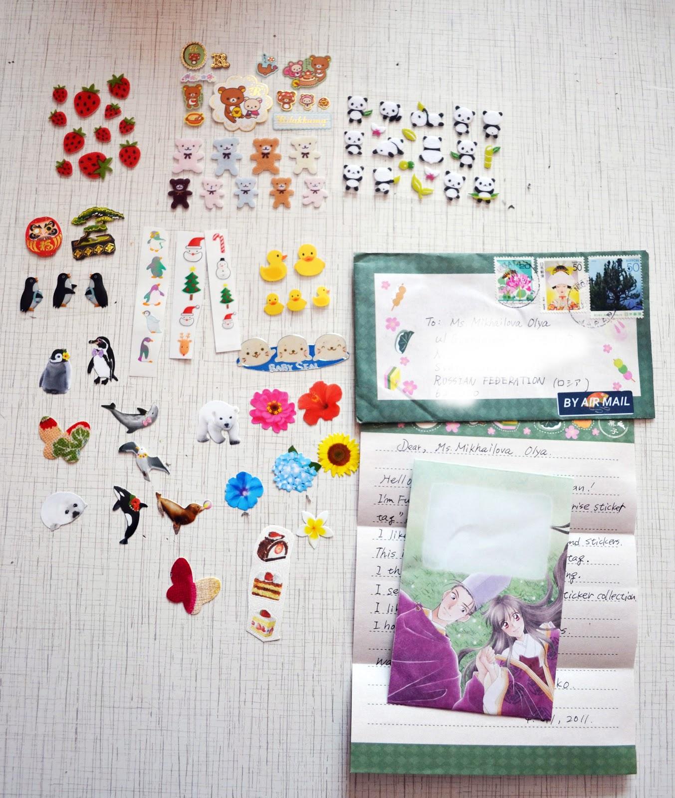 О чем писать в открытках посткроссинг