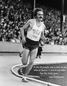 """""""Mucha gente corre para ver quién es más rápido.Yo corro para ver quién tiene más agallas"""""""
