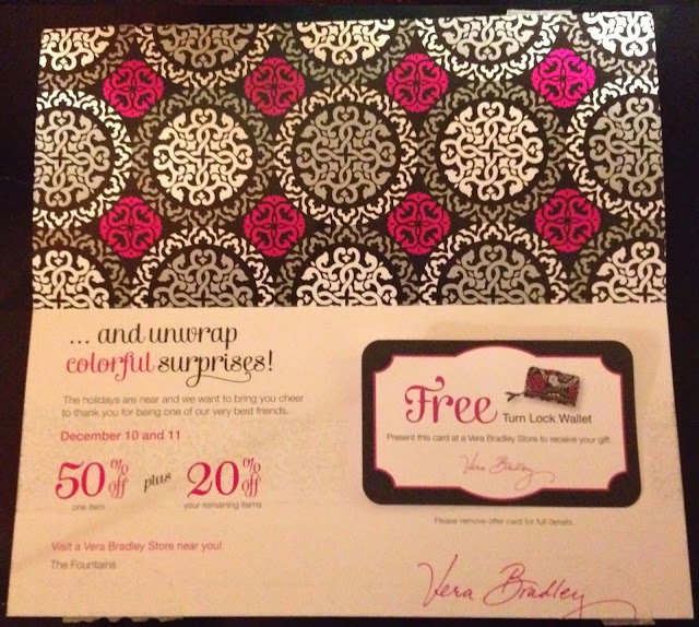 Coupon code for vera bradley