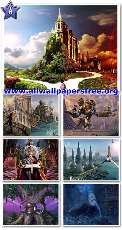 100 Amazing Fantasy Wallpapers 1280 X 1024 [Set 12]