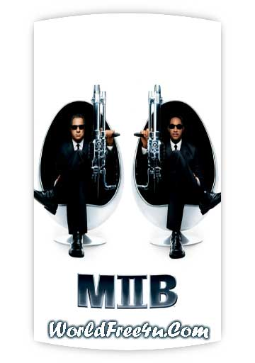 Poster Of Men in Black 2 (2002) In Hindi English Dual Audio 300MB Compressed Small Size Pc Movie Free Download Only At worldfree4u.com