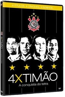 4X Timão: A Conquista do Tetra Corinthiano DVDRip RMVB 2011 timao