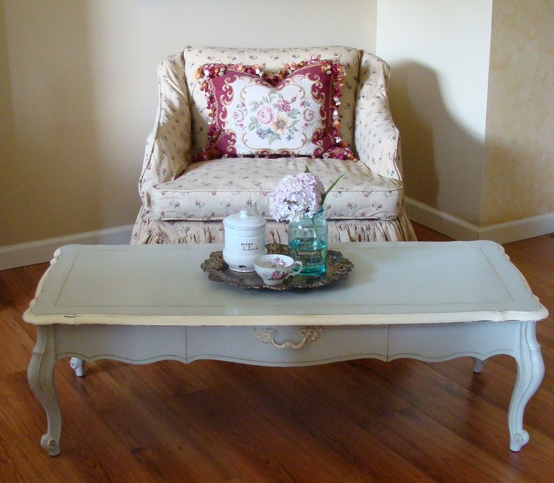 French Coffee Table Decor: The Decorating Diaries: French Gray Coffee Table