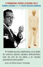 Pedro lezcano< > Pedro García Cabrera: Dos poetas.Un Compromiso.