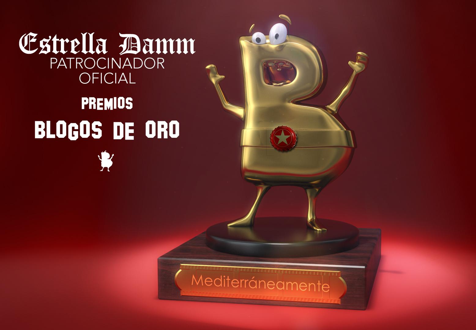 Estrella Damm patrocinador oficial de los Blogos de Oro
