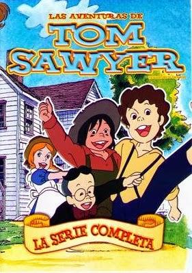 Cover Caratula Las Aventuras De Tom Sawyer Serie Completa DVDRip ESPAÑOL LATINO