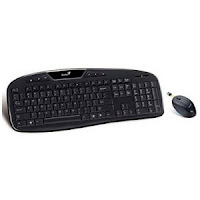 Buy Genius KB-8005 2.4GHz Wireless Keyboard Combo at Rs. 649 : Buytoearn