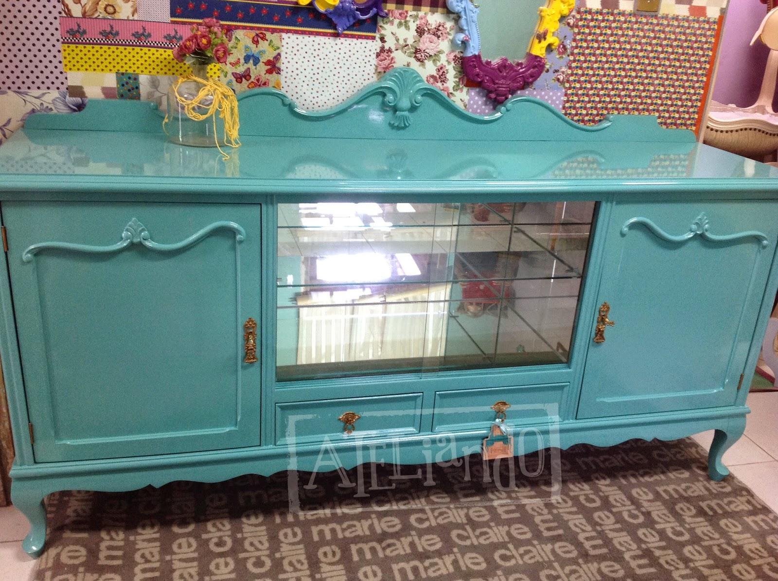 Ateliando Customização de móveis antigos: Buffet Antigo Paula #8E703D 1600x1195