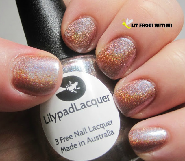 Lilypad Lacquer Naked Skies