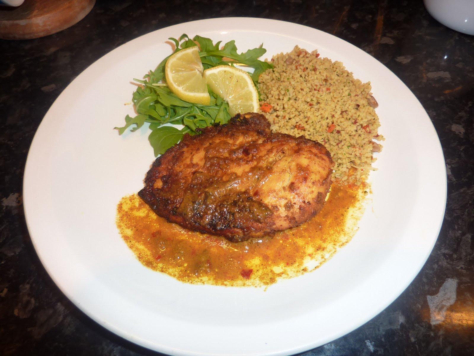Jouelle's Kitchen: Spicy Grilled Orange Chicken