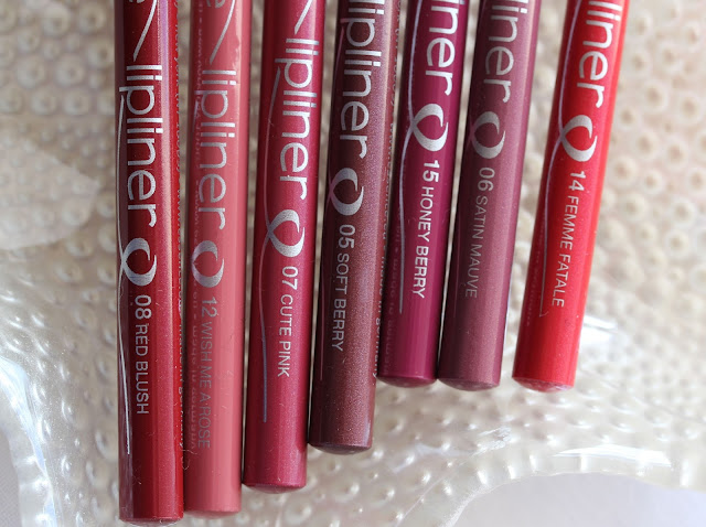 Essence lip liners