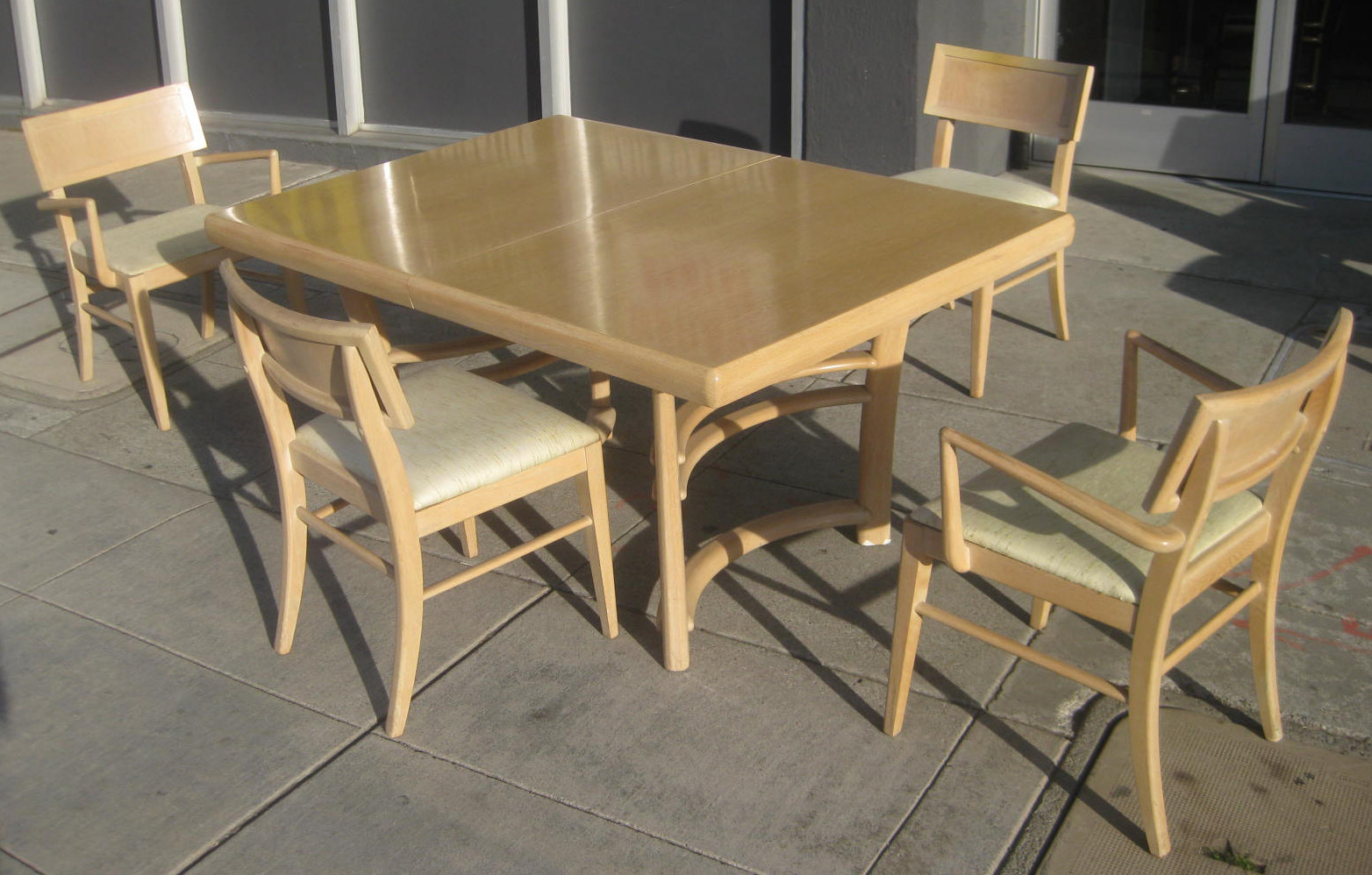 Uhuru furniture collectibles sold 39 50s birch dining set 150 - Birch kitchen table ...