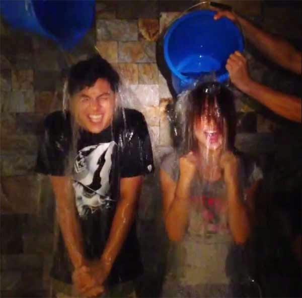 KathNiel ice bucket challenge