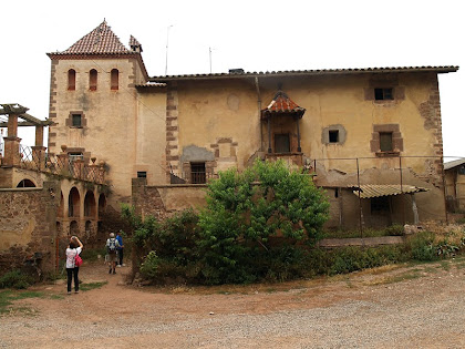 La façana de tramuntana del mas Bussanya