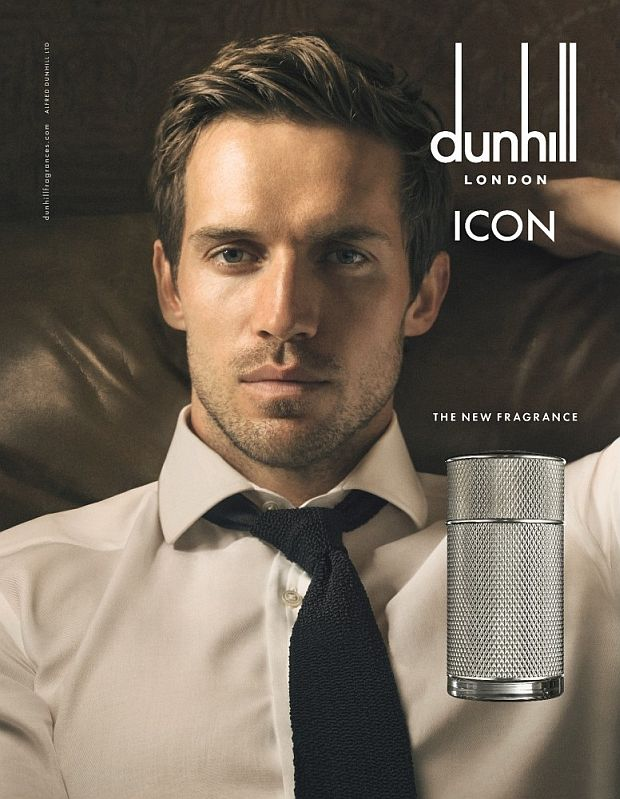 Andrew Cooper w kampanii Dunhill Icon
