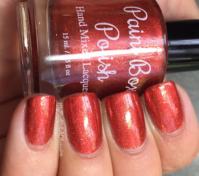 Paint Box Polish Gryffindor