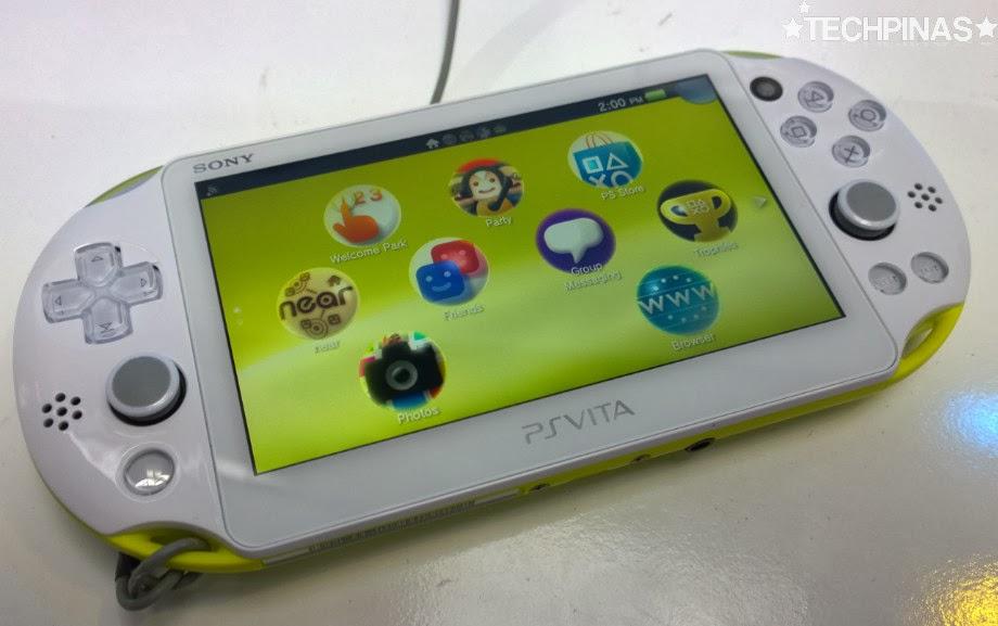 Sony PS Vita 2000, Sony PS Vita 2000 Philippines, Sony PSVita 2000