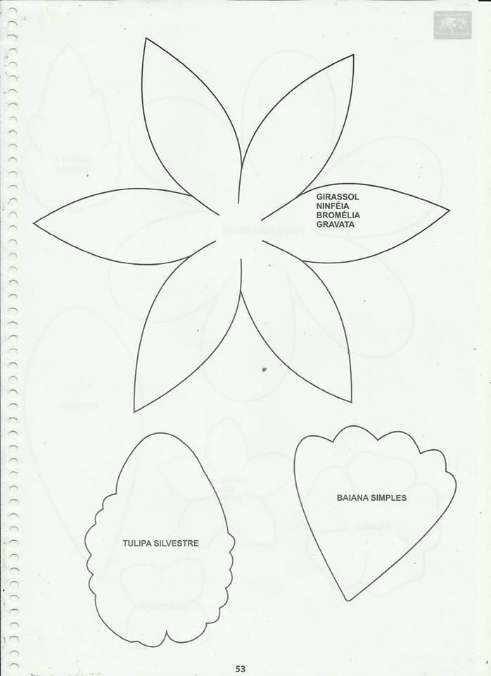 Muito Como fazer flores em eva passo a passo e muito mais: como fazer  TA54