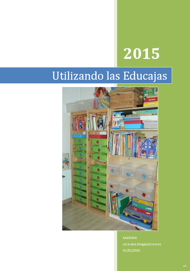A la venta nuestro dossier: Utilizando las Educajas