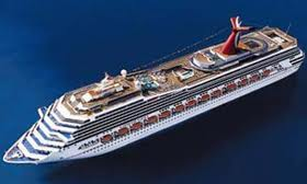 Carnival Cruise Line Carnival Glory Sails from Boston