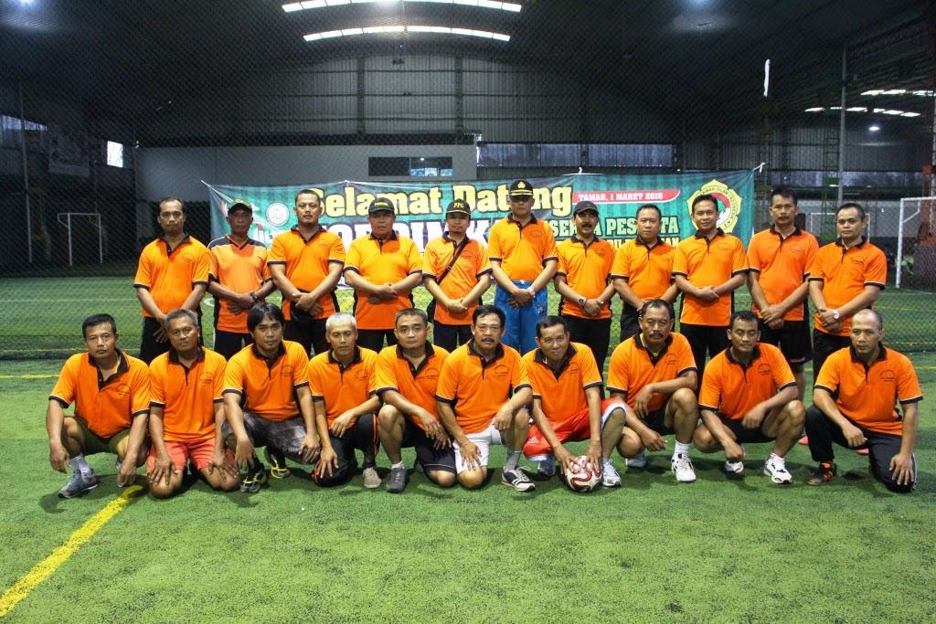 Tim Futsal LDII Taman – Camat – Koramil – Polsek Kecamatan Taman