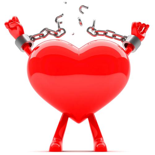 Heart breaking chains