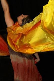 Um pouco mais sobre a Dança com Tecidos
