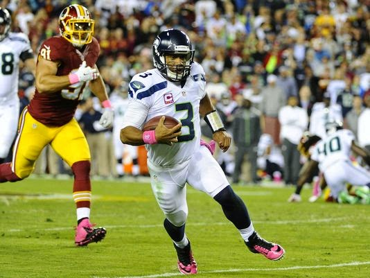 Russell Wilson, Seahawks squeeze past Redskins