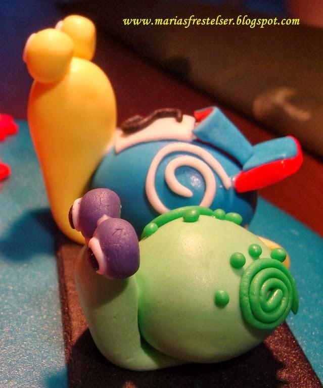 Turbo snigel tårta