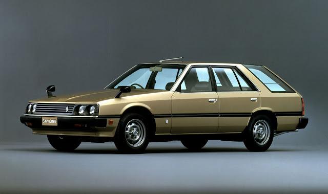 Nissan Skyline, R30, lata 80, RWD, kombi 日本車 日産 スカイライン