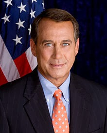 Wikipedia photo of John Boehner