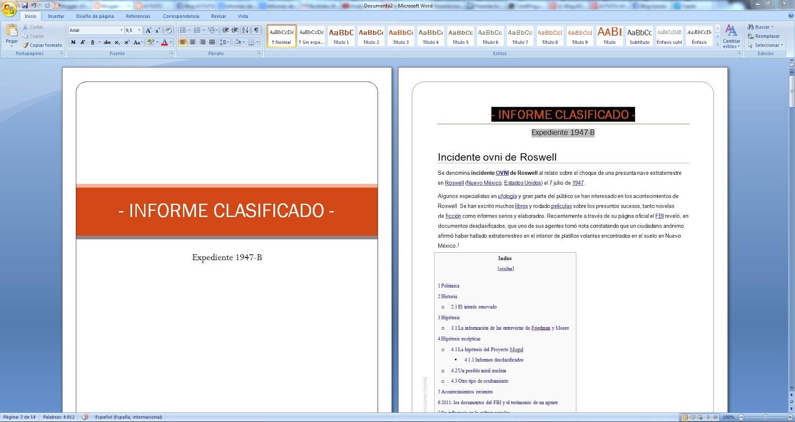 AYTUTO: Copiar formato de un texto a otro en WORD