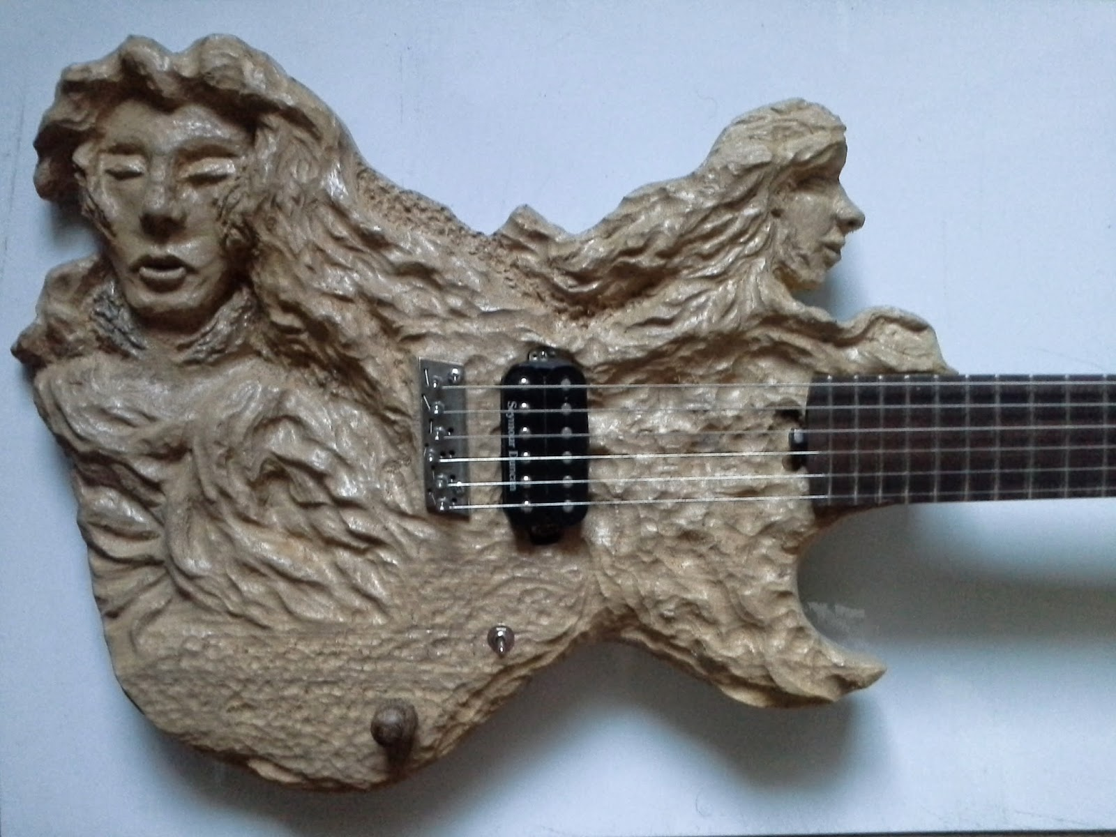 carved guitars