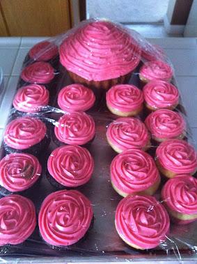 PINK CAKE & CUPCAKES